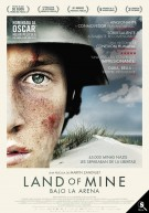 Póster de Land of mine: bajo la arena